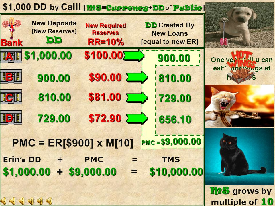 $1,000 DD by Calli [MS=Currency+DD of Public]